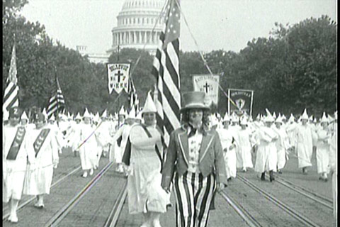 a history of the ku klux klan which originated over a hundred years ago